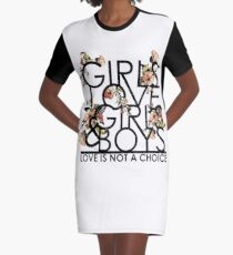 GIRLS/GIRLS/BOYS Graphic T-Shirt Dress