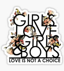 GIRLS/GIRLS/BOYS Sticker