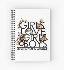 GIRLS/GIRLS/BOYS Spiral Notebook