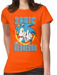 Sonic The Hedgehog Womens Fitted T-Shirt