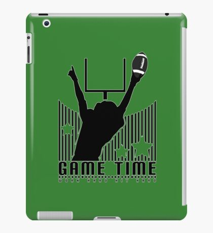 Game Time - Football (Green) iPad Case/Skin