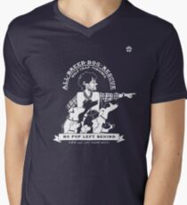 Will Graham's All-Breed Dog Rescue  Men's V-Neck T-Shirt