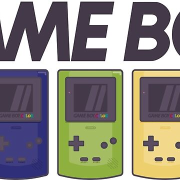 GAMEBOY COLOR by MDRMDRMDR