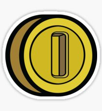 GAME COIN Sticker