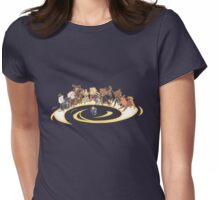 dogster who  Womens Fitted T-Shirt