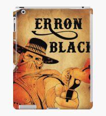 Wanted- Erron Black iPad Case/Skin