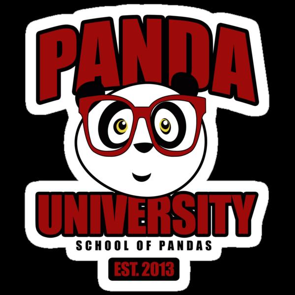 Panda University - Red 2 by Adamzworld