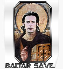 baltar saves Poster