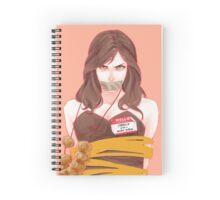 Carmilla Spiral Notebook