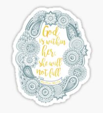 Psalm 46:5 Sticker