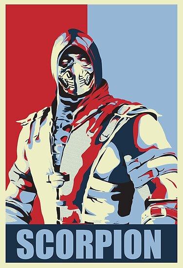 Scorpion Mkx Hope Posters By Murderwear Redbubble