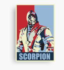 scorpion mkx hope Canvas Print
