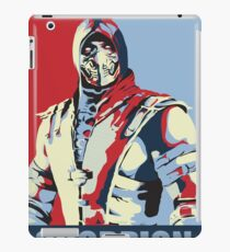 scorpion mkx hope iPad Case/Skin