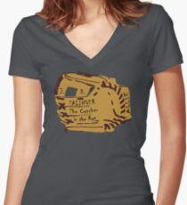 Salinger glove Women's Fitted V-Neck T-Shirt