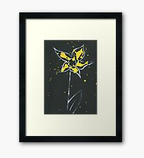 Yellow Paint Framed Print