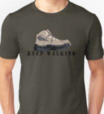 Keep walking Unisex T-Shirt
