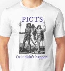 Picts, or it didn't happen Unisex T-Shirt