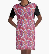 Pieces of Me Energy Painting  Graphic T-Shirt Dress