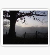 A Smoky Mountain Fog Sticker