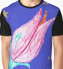 Hungry flower flying Graphic T-Shirt