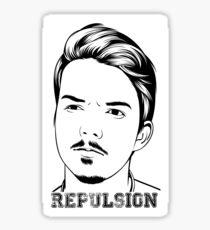 Repulsion Face Sticker