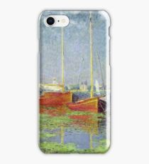 Claude Monet - Argenteuil 1882 iPhone Case/Skin