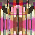 """Pink Abstract Tiled"" by kcd-designs"