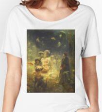 Vintage famous art - Ilya Repin - Sadko 1876 Women's Relaxed Fit T-Shirt
