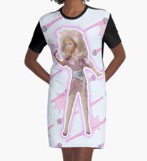 I am THE Hologram Graphic T-Shirt Dress