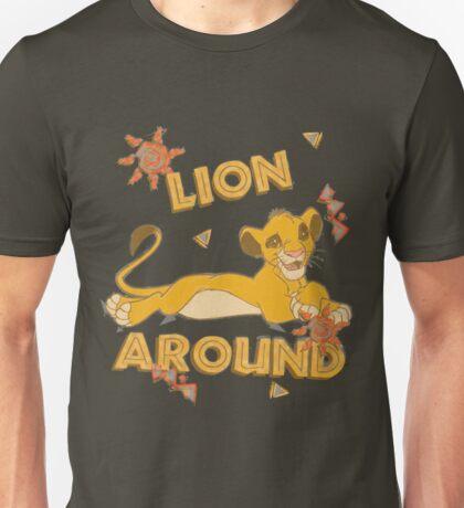 Simba - Lion King - Lion Around Unisex T-Shirt