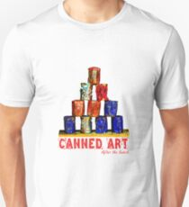 Soup Cans - After The Lunch T-Shirt
