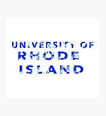 University of Rhode Island Photographic Print