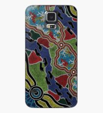 Walking the Land - Authentic Aboriginal Arts Case/Skin for Samsung Galaxy