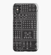 BLACK MODULAR iPhone Case/Skin
