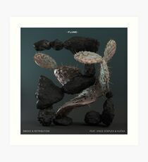 Flume   Smoke & Retribution Ft. Vince Staples Art Print