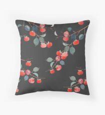 Persimmon Harvest Throw Pillow
