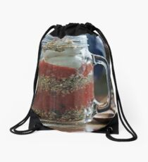 Layered Muesli Breakfast Drawstring Bag