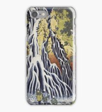 Vintage famous art - Hokusai Katsushika - The Kirifuri Waterfall iPhone Case/Skin