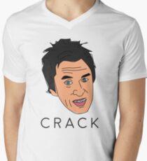 Peep Show Super Hans Crack Men's V-Neck T-Shirt