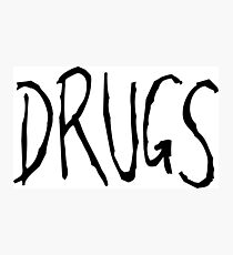 drugs Photographic Print