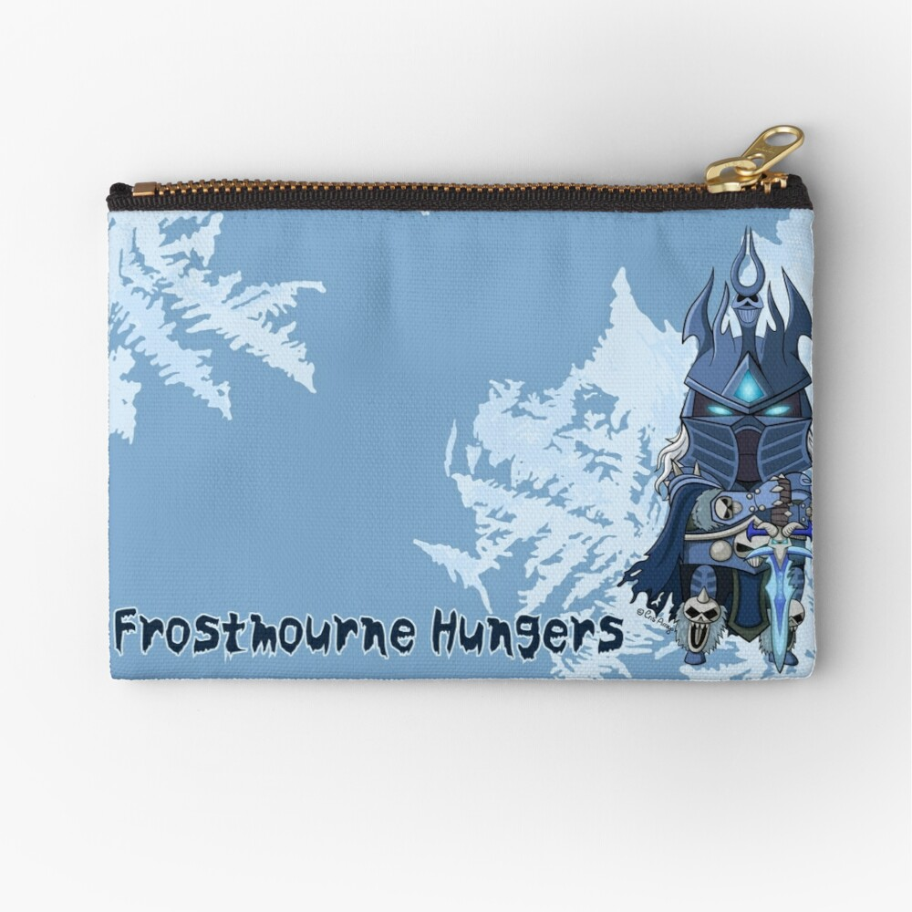 Frostmourne Hungers Zipper Pouch