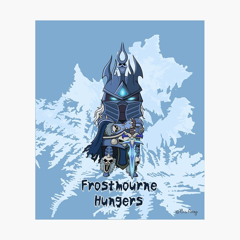 Frostmourne Hungers Photographic Print