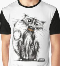 Boris the cat Graphic T-Shirt