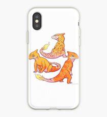 Realistic charmander pokemon iPhone Case