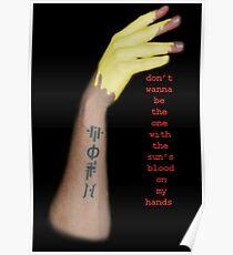 sun's blood - Twenty One Pilots Poster