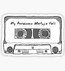 My awesome mixtape vol.1 Sticker