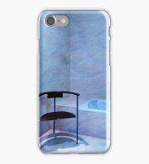 Blue Bathroom iPhone Case/Skin