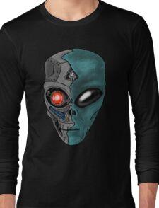 Cyborg Alien  Long Sleeve T-Shirt