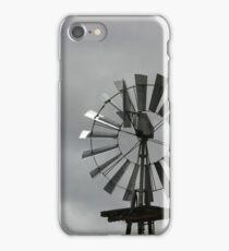Steel Blades on a Wind Turbine iPhone Case/Skin
