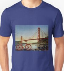 Bicycle In San Francisco Unisex T-Shirt